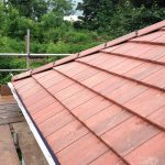 new tiled roofing